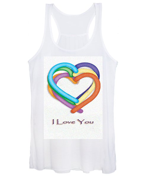 Love Is In The Air Women's Tank Top