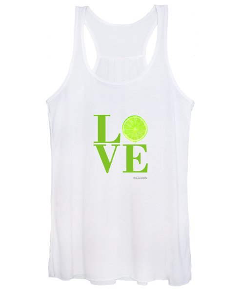 Love Lime Women's Tank Top
