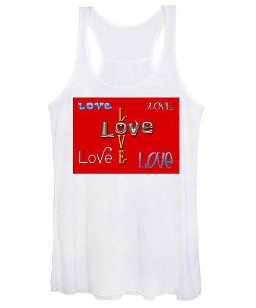 Love Love Love Women's Tank Top