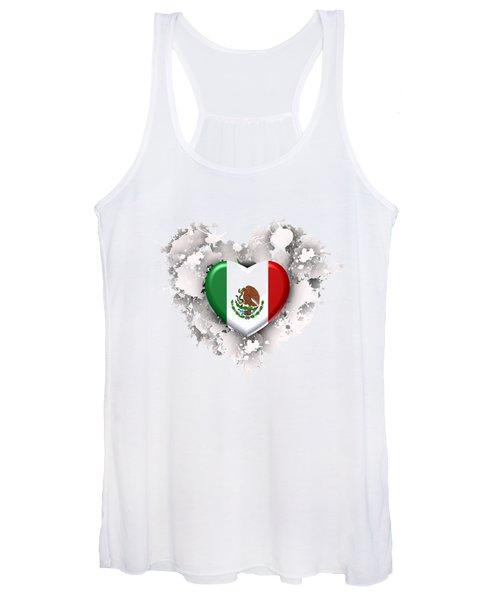 Love Mexico.1 Women's Tank Top