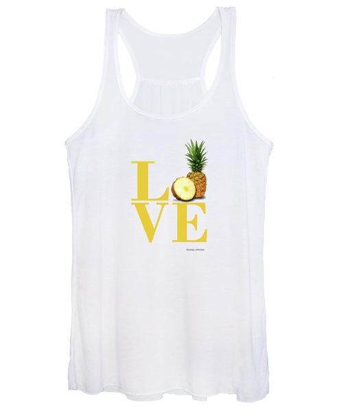 Love Pineapple Women's Tank Top