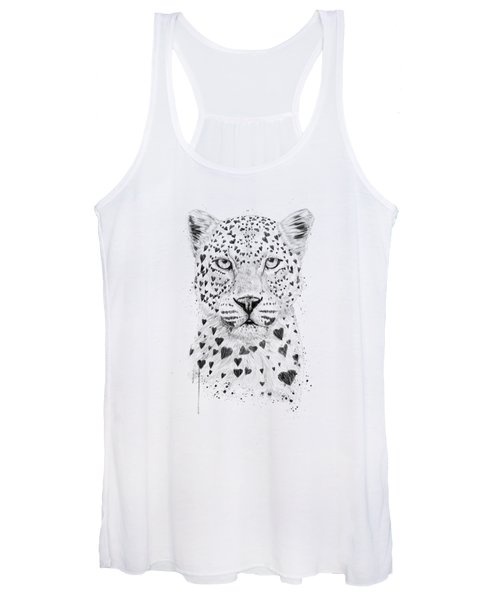 Lovely Leopard Women's Tank Top