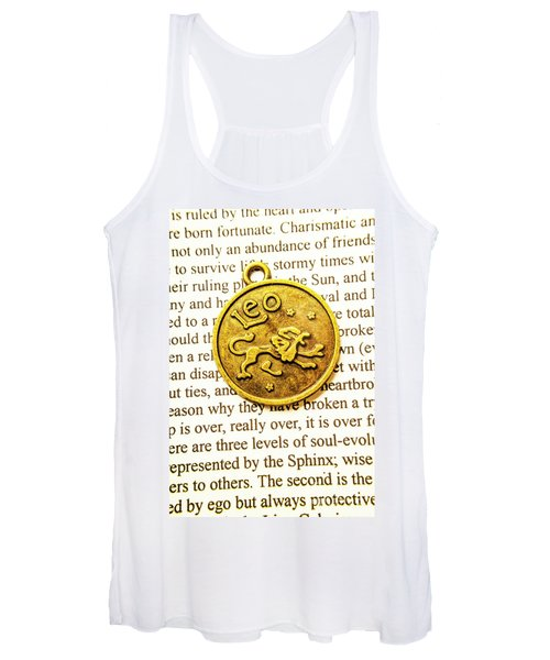 Lucky Leo Charms Women's Tank Top