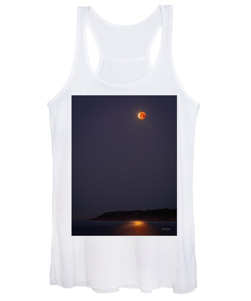 Lunar Eclipse - January 2018 Women's Tank Top
