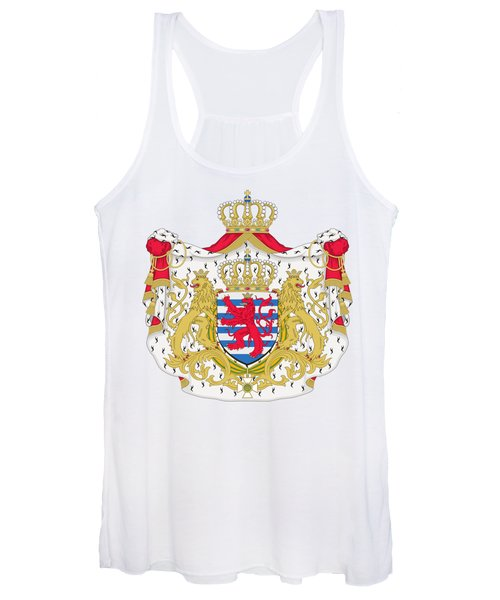 Luxembourg Coat Of Arms Women's Tank Top