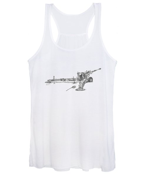 M198 Howitzer - Standard Size Prints Women's Tank Top