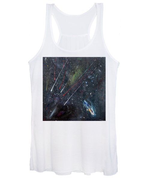 Women's Tank Top featuring the painting M51 by Michael Lucarelli