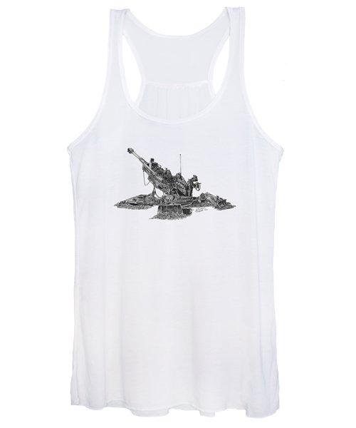 M777a1 Howitzer Women's Tank Top