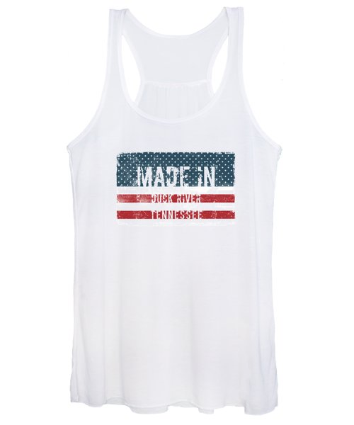 Made In Duck River, Tennessee Women's Tank Top