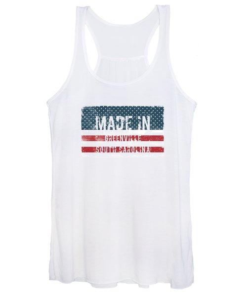 Made In Greenville, South Carolina Women's Tank Top