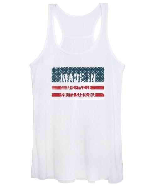 Made In Harleyville, South Carolina Women's Tank Top