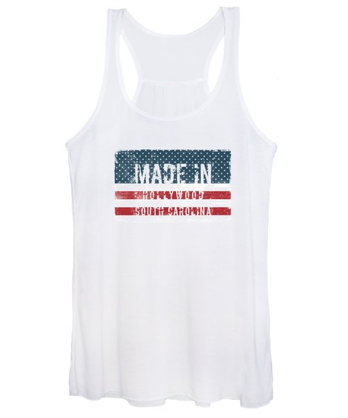 Made In Hollywood, South Carolina Women's Tank Top
