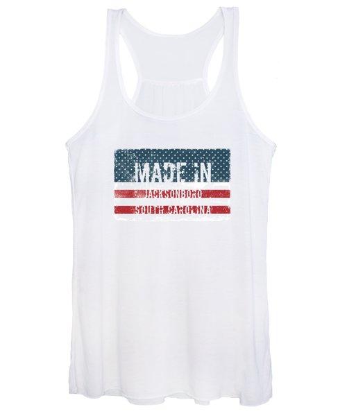 Made In Jacksonboro, South Carolina Women's Tank Top