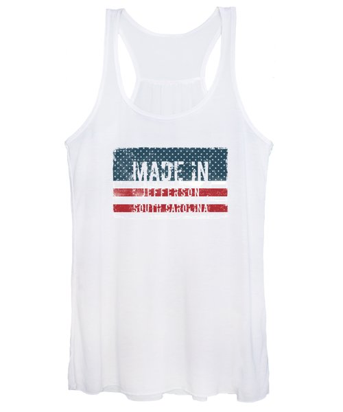 Made In Jefferson, South Carolina Women's Tank Top