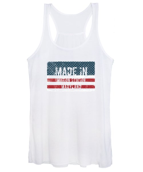 Made In Marion Station, Maryland Women's Tank Top