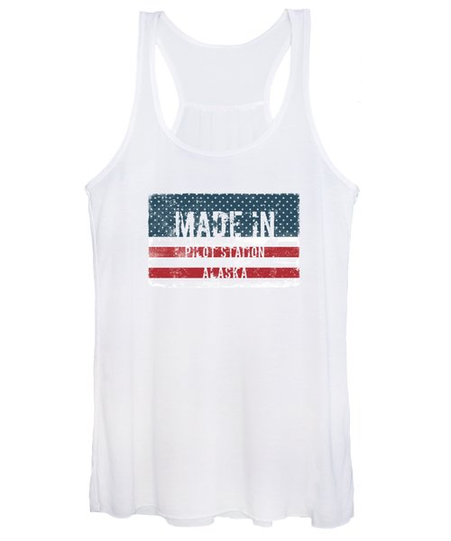 Made In Pilot Station, Alaska Women's Tank Top