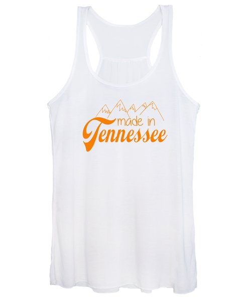 Made In Tennessee Orange Women's Tank Top