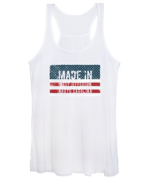Made In West Jefferson, Nc Women's Tank Top
