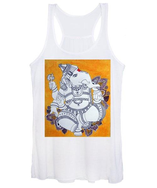 Madhubani Ganesh 4 Women's Tank Top
