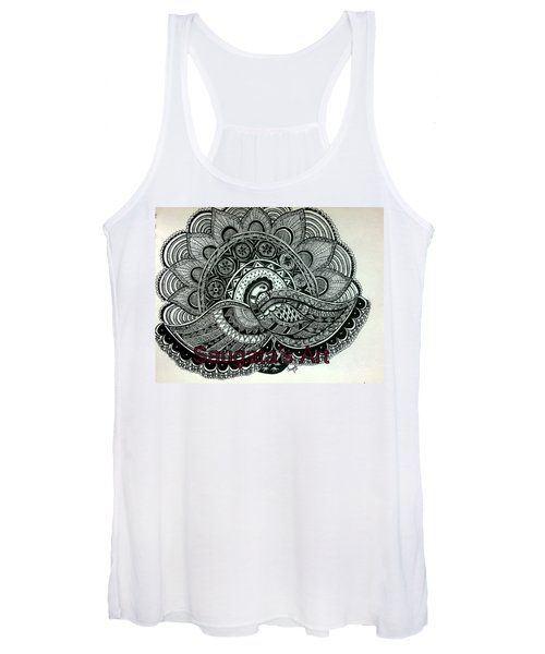 The Magnificent Peacock Women's Tank Top