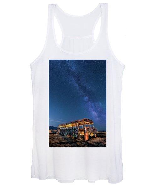 Magic Milky Way Bus Women's Tank Top