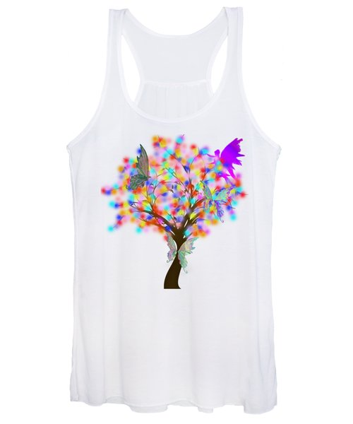 Magical Tree - Digital Art Women's Tank Top