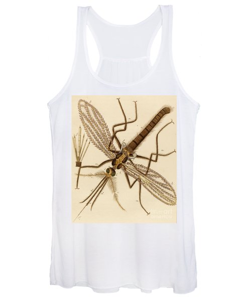 Magnified Mosquito Women's Tank Top