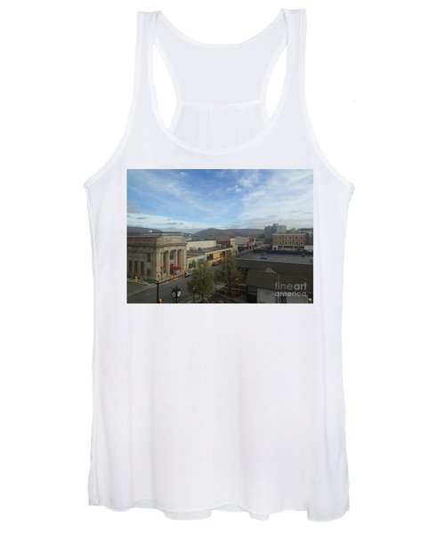 Main St To The Mountains   Women's Tank Top