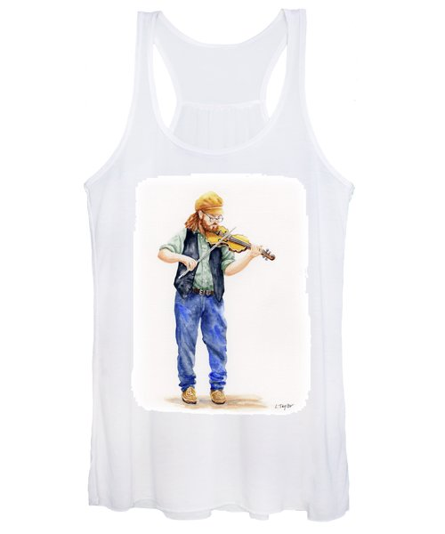 Main Street Minstrel 1 Women's Tank Top