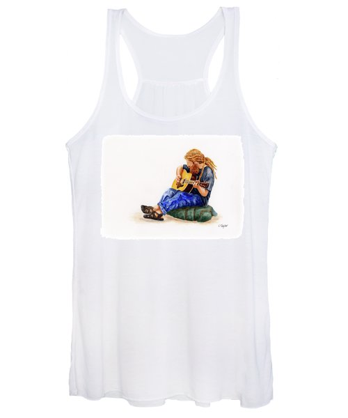 Main Street Minstrel 2 Women's Tank Top