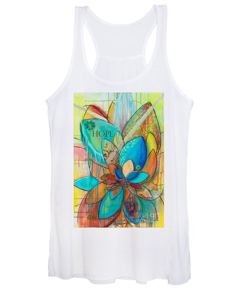 Spirit Lotus With Hope Women's Tank Top