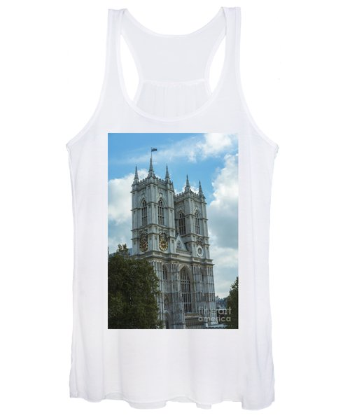 Majestic Westminster Abbey Women's Tank Top