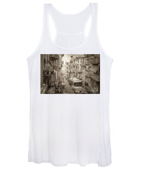 Manarola In Sepia Women's Tank Top