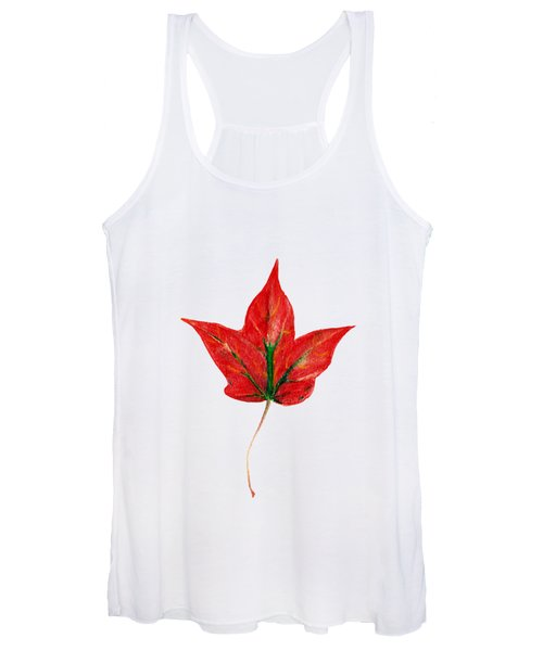 Maple Leaf Women's Tank Top