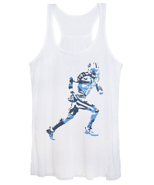 Marcus Mariota Tennessee Titans Pixel Art T Shirt 2 Women's Tank Top