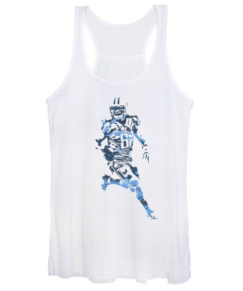 Marcus Mariota Tennessee Titans Pixel Art T Shirt 3 Women's Tank Top