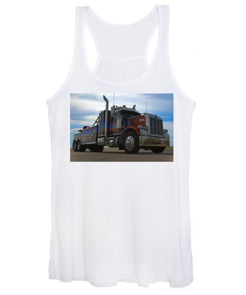 Marvins Big Rig Cars Movie Tribute Tow Truck Women's Tank Top