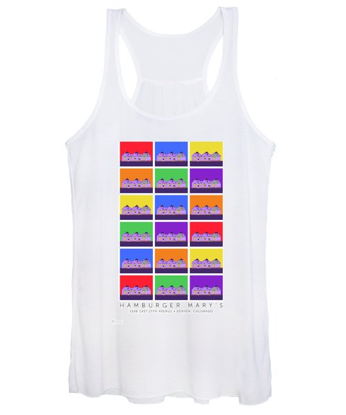 Mary Montage Women's Tank Top