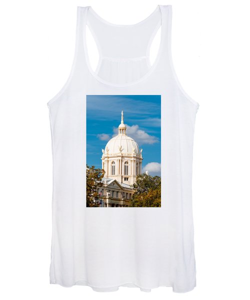 Mclennan County Courthouse Dome By J. Reily Gordon - Waco Central Texas Women's Tank Top