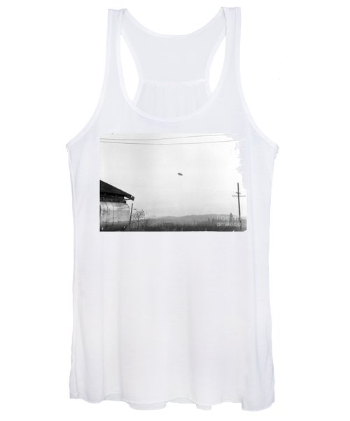 Mcminnville Ufo Sighting, 1950 Women's Tank Top