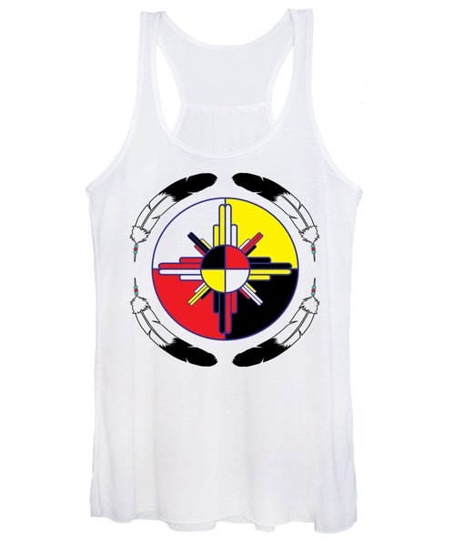 Medicine Wheel Women's Tank Top
