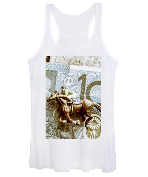 Melbourne Cup Wager Women's Tank Top