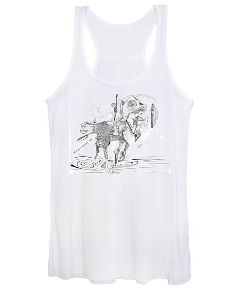 Merry-go-round Horse Women's Tank Top