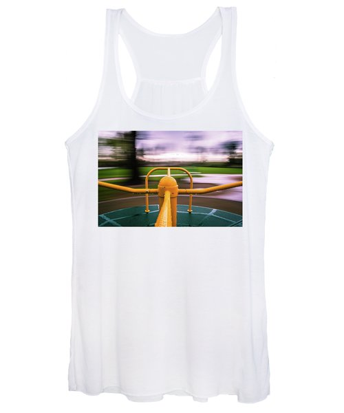 Merry Go Round Women's Tank Top