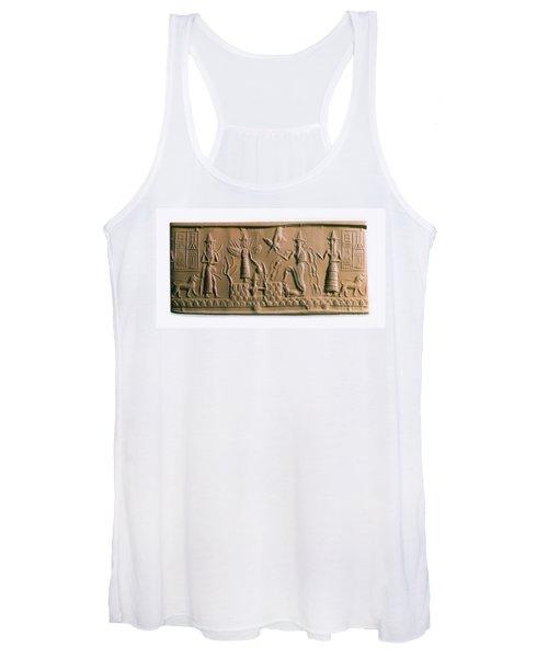 Mesopotamian Gods Women's Tank Top
