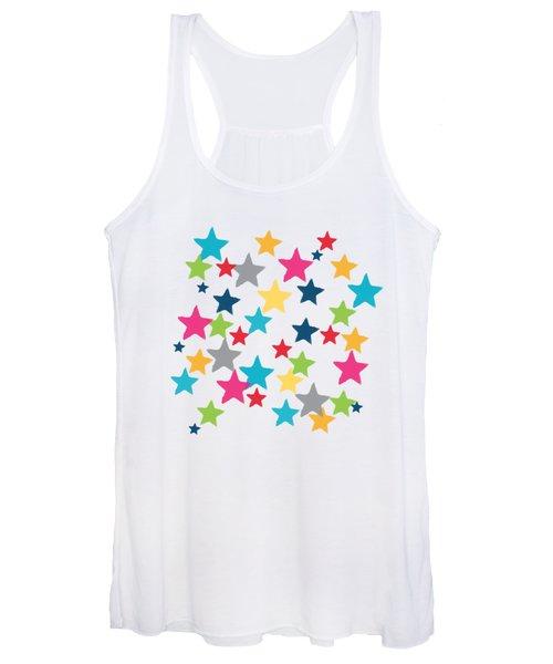 Messy Stars- Shirt Women's Tank Top