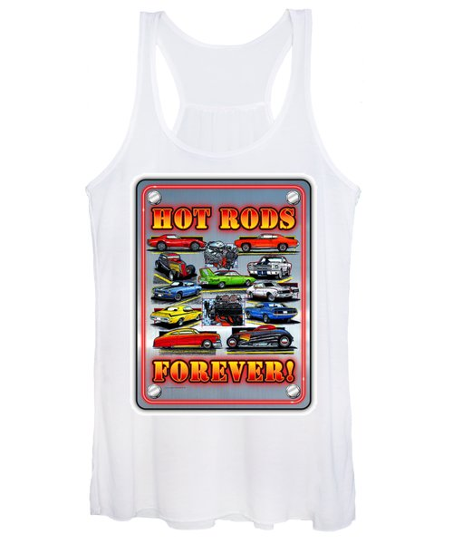Metal Hot Rods Forever Women's Tank Top