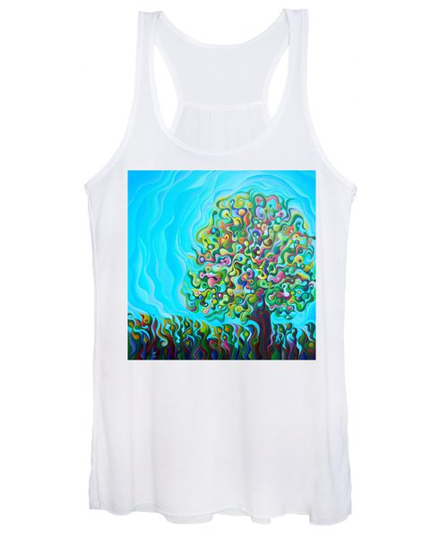 Mid-summer Tree Breath Women's Tank Top