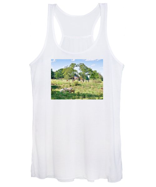 Midwest Cattle Ranch Women's Tank Top