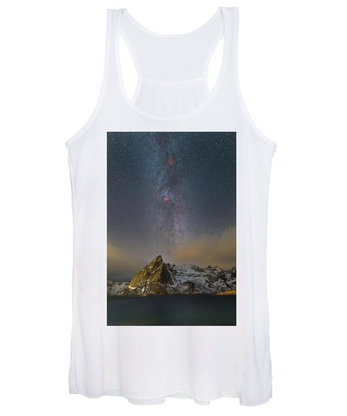 Milky Way In Lofoten Women's Tank Top